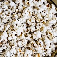 A big pot of popcorn.